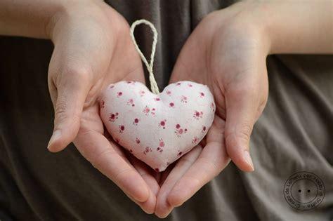 hobby  carta il blog tutorial cuore  stoffa imbottito