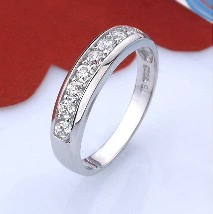 wholesale    sterling silver zircon simulated