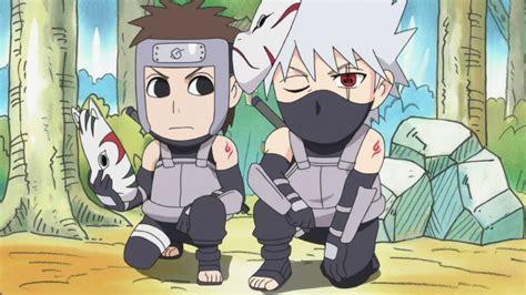 Anime Shinden Jojo Image Kakashi And Yamato As Anbu Png Rock S