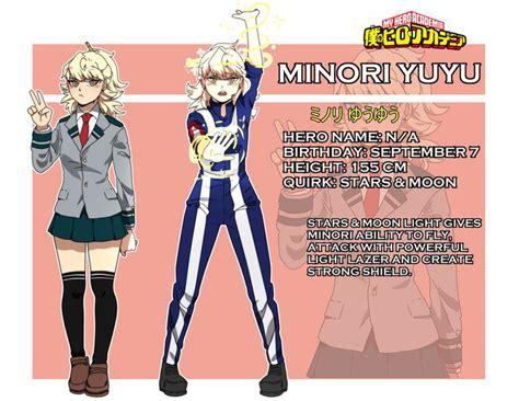 bnha oc minori yuyu  shisaireru  hero academia
