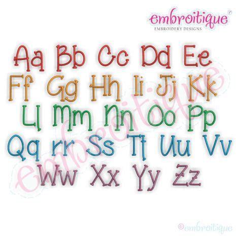 alphabets embroidery fonts brody whimsical handwritten monogram font great  boys