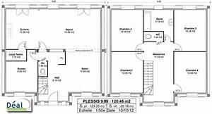Plan Maison 140m2 Avec Etage VJ37 Jornalagora