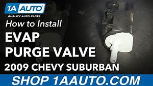 How To Install Replace Evap Vapor Canister Purge Valve