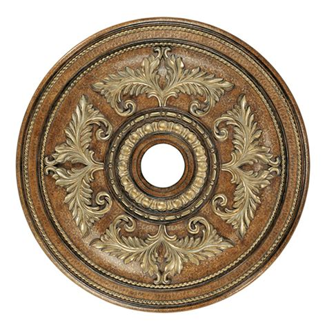 Large 2 Ceiling Medallions by Large Venetian Patina Ceiling Medallion Livex Lighting
