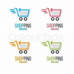Set Online Shop : shopping logo vector set online store vector logo hanger sign hanger pictogram with text ~ Orissabook.com Haus und Dekorationen
