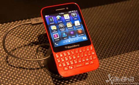 blackberry q5 primeras impresiones technology smartphone y teclado