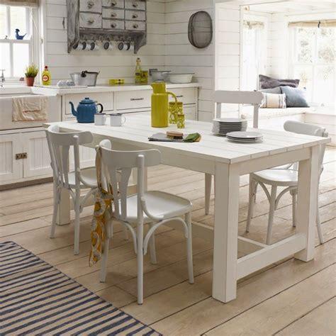 coastal kitchen table mesa sillas blancas la maison sillas 2284
