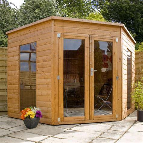 waltons wooden corner summer house