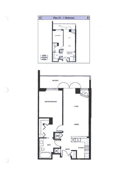 one bedroom floor plan discovery floor plan e1 1 bedroom