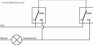 Two Way Switch Schematic Diagram