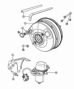 2011 Dodge Grand Caravan Booster  Power Brake
