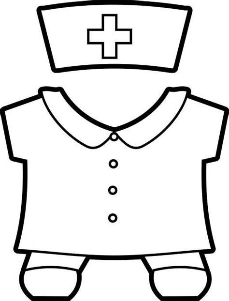 nurse hat craft for preschoolers printable community helpers buddies paper dolls 863