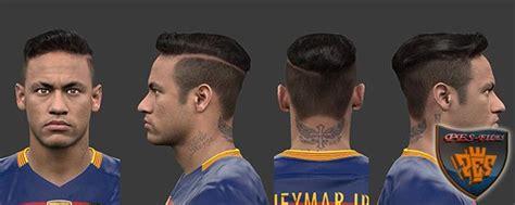 pes modif pes  neymar  hair  habib