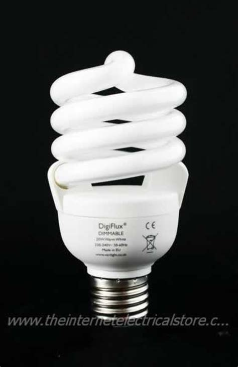 digiflux dimmer dimmable light bulb bayonet e27 cfl energy