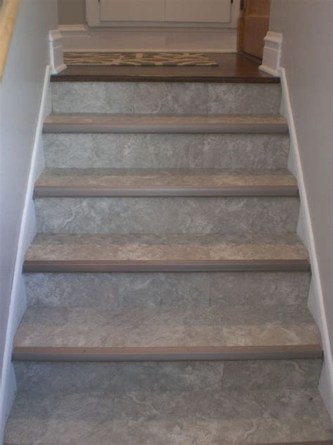 linoleum flooring on stairs linoleum on stairs google search home stuff pinterest search google and stairs