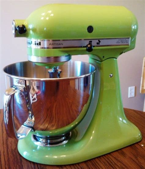 green kitchen aid mixer 37 best images about lime green kitchen ideas on 3996
