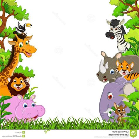 Animal Frame Wallpaper - forest background wallpaper impremedia net