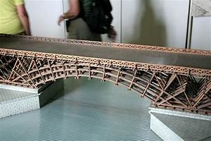 Model of Trajan's bridge across the Danube