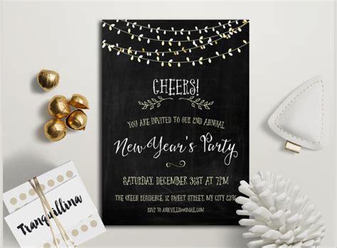 year invitation templates   sample