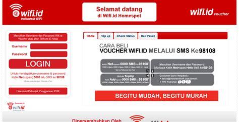 Jika cara pertama belum berhasil, coba lakukan disable dan enable pada adapter wifi. Merubah Home Page @WIFI.ID Welcome Page menjadi HOMESPOT ...