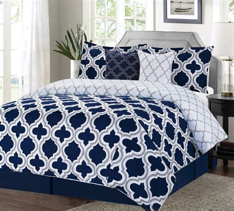 navy and white bedding bedroom sophisticated navy comforter with stunning design for bedroom furniture