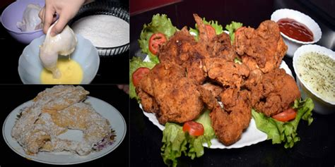 How to make Crispy Fried Chicken Broast easily at home