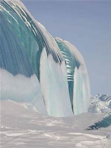 Frozen Tidal Wave in Antarctica | Lugares | Pinterest