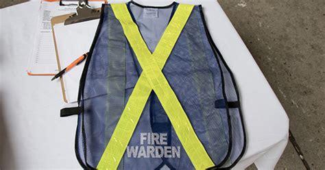 fire wardens facilities management  development
