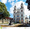 Church Of St. Catherine In Vilnius, Autumn Time. Lithuania ...