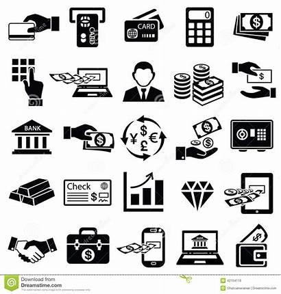 Icon Finance Money Vector Commerce Symbol Banking