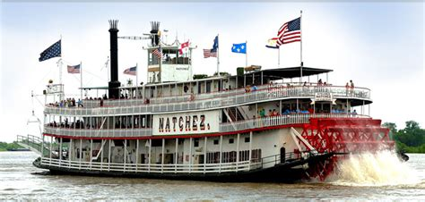 Steamboat Natchez by Mississippi River Steamboat Cruises Mississippi River
