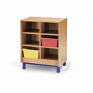 Rangement 6 Cases : meuble casiers pour cole meuble d 39 cole maternelle mobilier pour classe maternelle ~ Teatrodelosmanantiales.com Idées de Décoration