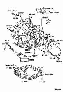Transmission Case  U0026 Oil Pan  Atm  For 1996