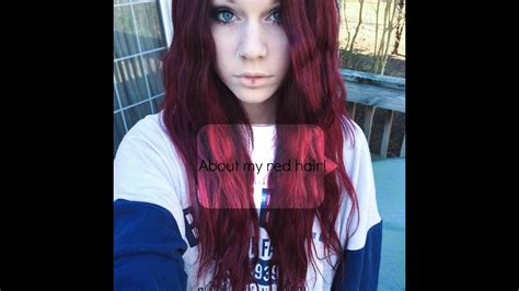 Brown To Red Hair Without Bleach Youtube
