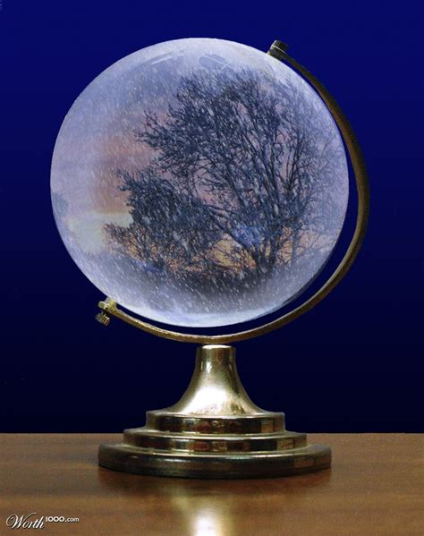 winter snow globe worth1000 contests