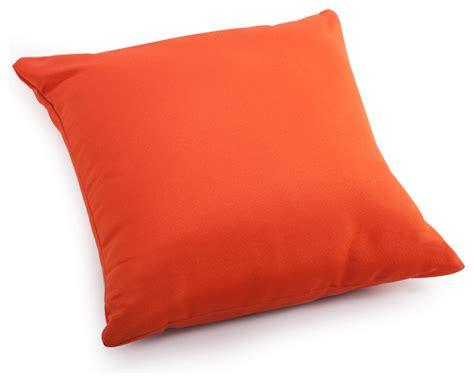 laguna large pillow orange contemporary outdoor