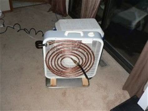 box fan sw cooler copper tubing air conditioners and coolers on pinterest