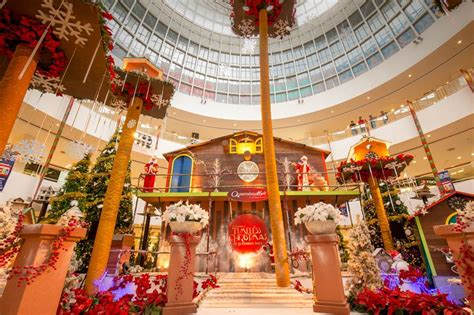 top   selfie christmas mall