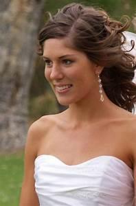 Medium Length Bridal Hairstyles For Long Hiar With Veil