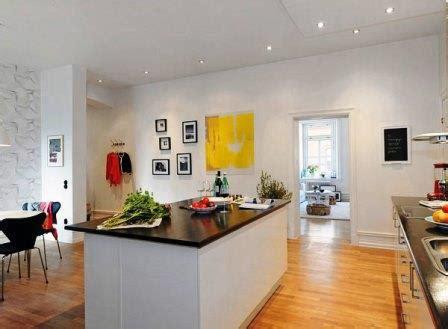 modele de cuisine americaine avec ilot central amenagement cuisine americaine salon deco maison moderne