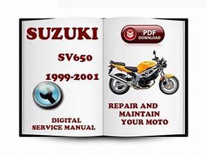 Suzuki Sv650 1999-2001 Service Repair Manual Download