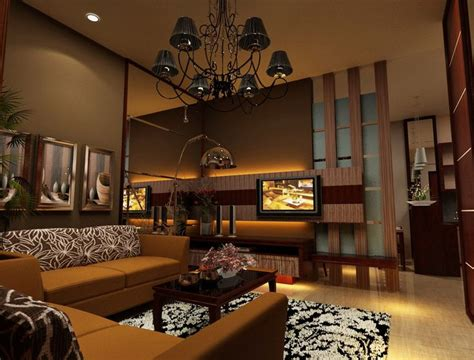 gambar  dekorasi rumah klasik modern ruang tamu