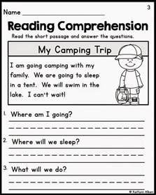 Kindergarten Sequencing Worksheets Free Printable Reading Comprehension Worksheets For Kindergarten Images About On