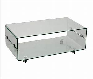 Tempered glass coffee table with wheels fabulous glass for Glass top coffee table with wheels