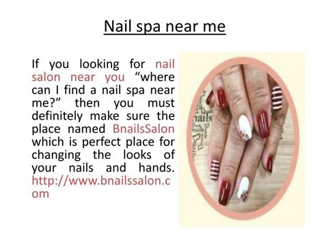 Spa Pedicure Near Me Powerpoint Presentation