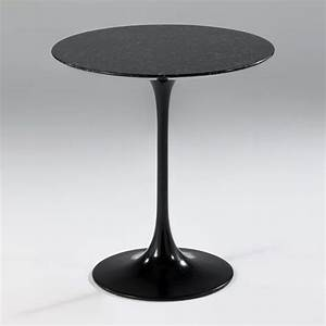 Table D Appoint Canapé : table d 39 appoint ronde en marbre noir ou blanc ~ Teatrodelosmanantiales.com Idées de Décoration