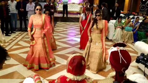 indian wedding surprise dance  bridemaids  punjabi
