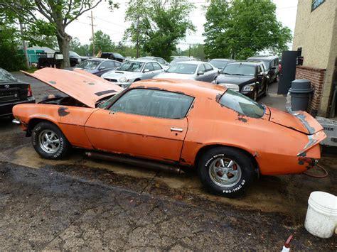 Camaro Barn by 1972 Camaro Barn Find Car