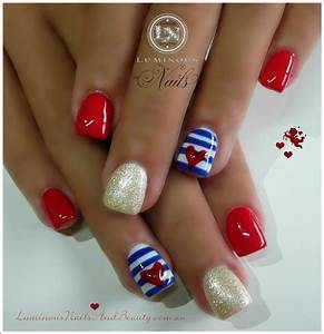 Best 10+ Sailor nails ideas on Pinterest | Nautical nail ...