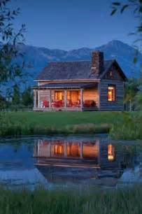 Cabin by a Pond
